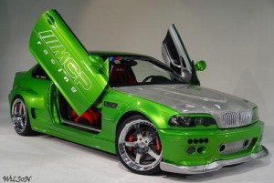 carros tuning chidos de color verde