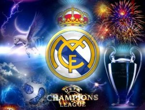 Escudo real Madrid championseague league