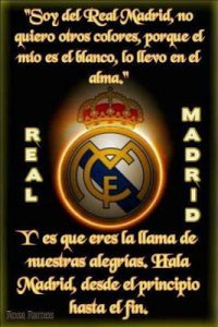 Fotos con frases del real Madrid