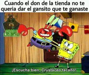 Memes De Bob Esponja Y Don Cangrejo