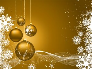 Esferas de navidad para fondo de pantallla