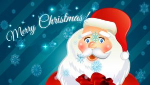 Fondos de navidad de Santa Clos para niños