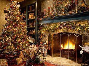 Fondos de pinos de navidad