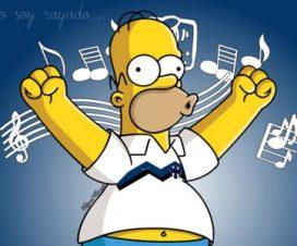 Homero Simpson con la playera del Monterrey