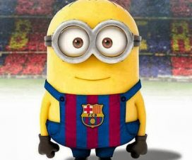 Imágenes de minions del Barcelona