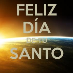 Imagenes de feliz dia de tu santo